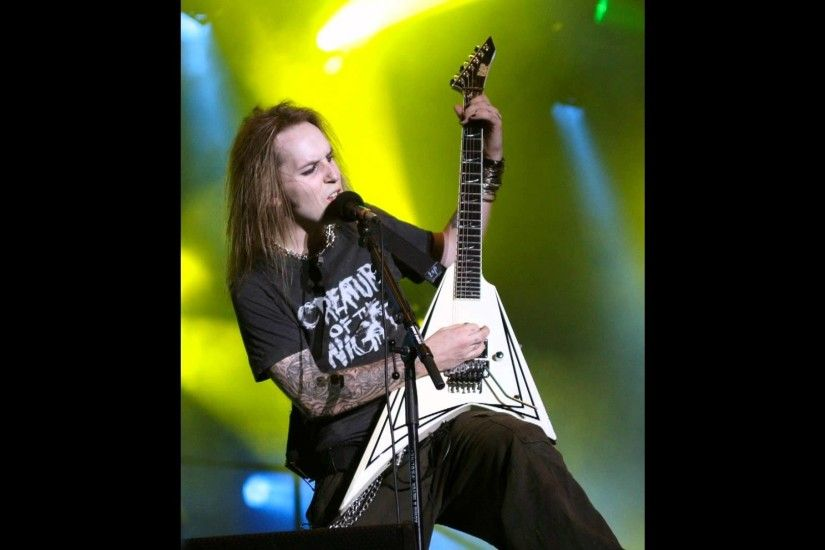 Alexi Laiho Top 10 solos - YouTube