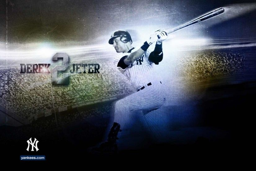 Derek Jeter - New York Yankees Wallpaper (16597576) - Fanpop
