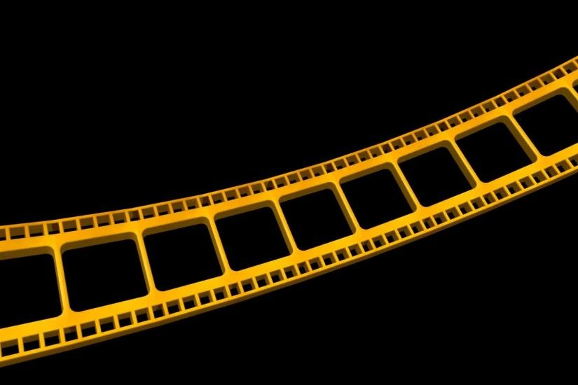 4K Ultra HD Filmstrip Moving Gold Animation 5 AA VFX free footage - YouTube