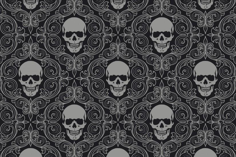 popular skull backgrounds 1920x1080