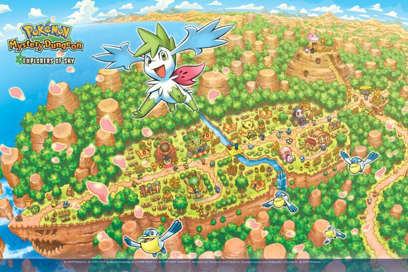 Pokémon Mystery Dungeon: Explorers of Sky Wallpaper 3
