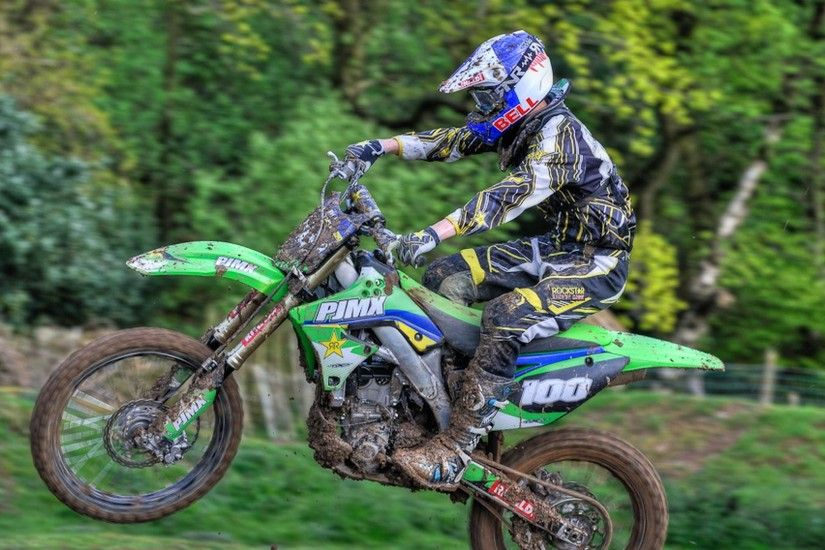 3840x2160 Wallpaper motocross, motorcycle, competition, racer