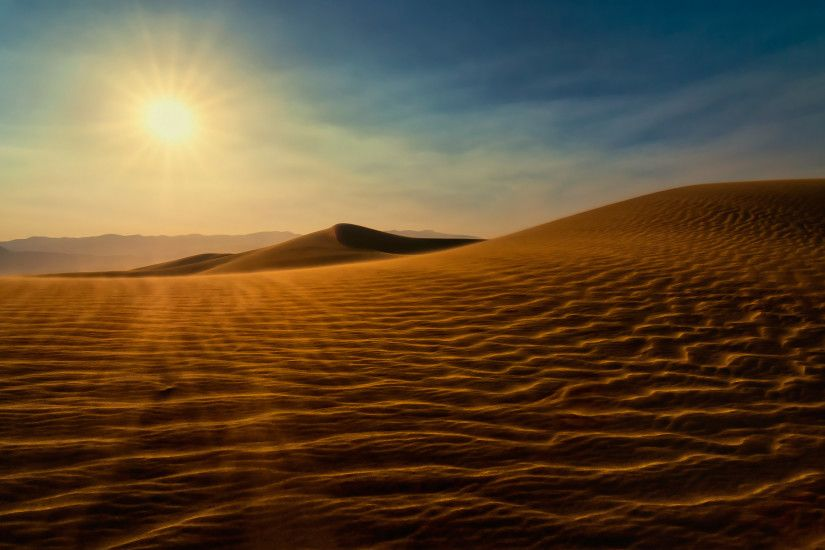 Death Valley Sand Dunes Wallpaper