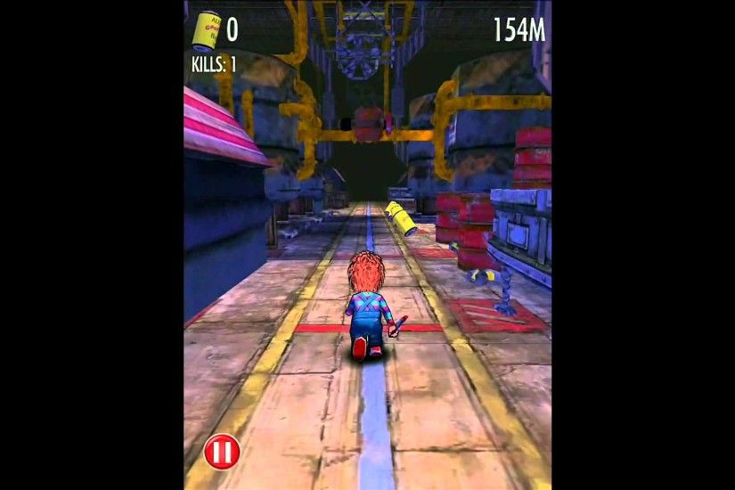 Chucky Slash & Dash - iPhone and iPad Gameplay HD