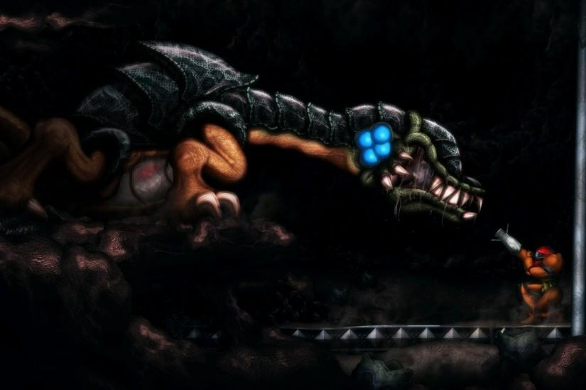 6 Metroid II: Return Of Samus HD Wallpapers | Backgrounds - Wallpaper Abyss