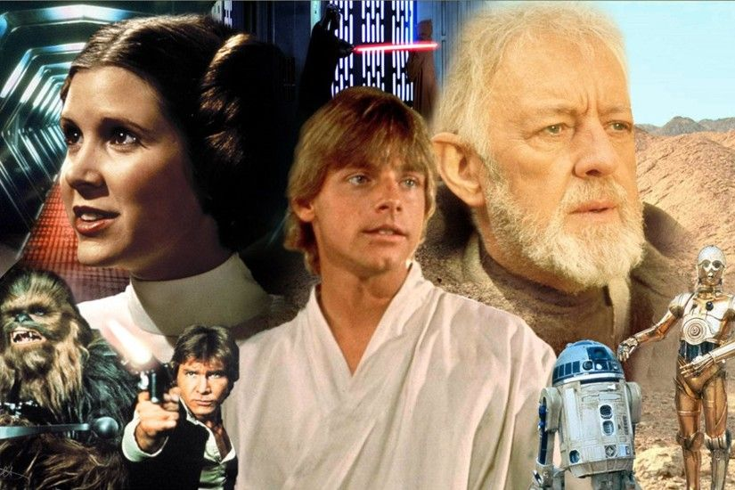 Movie - Star Wars Episode IV: A New Hope Chewbacca Han Solo Harrison Ford  Carrie