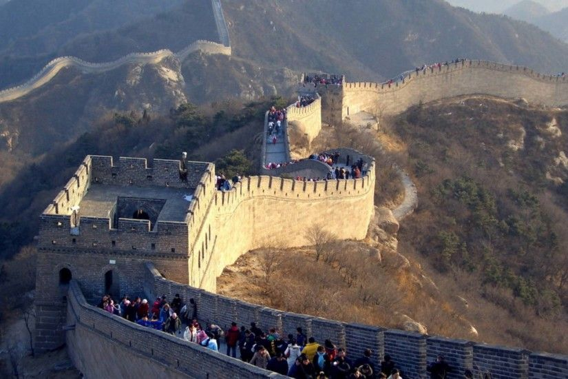 Great Wall of China Widescreen Wallpaper 12