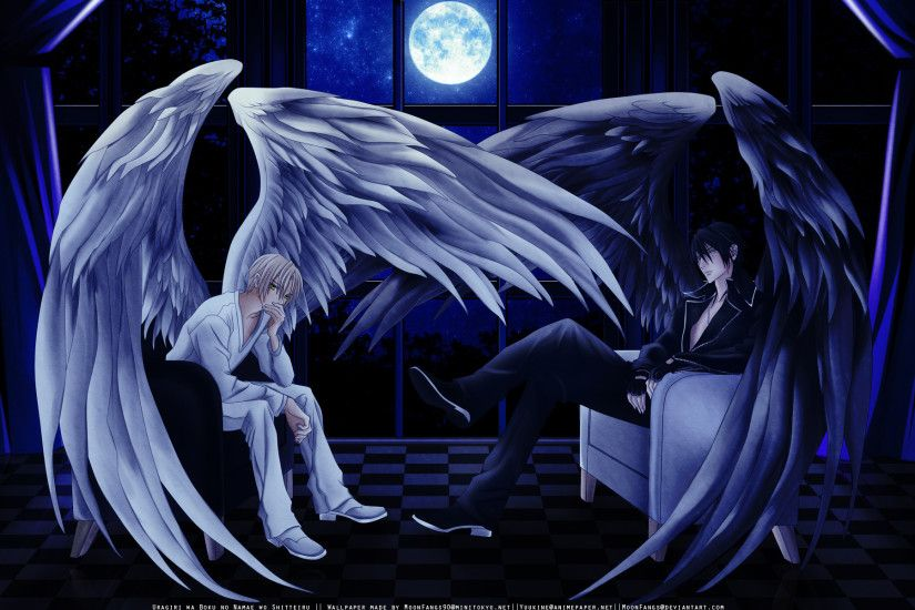 Anime Angel wings | Wallpapers, Backgrounds, Images, Art Photos.