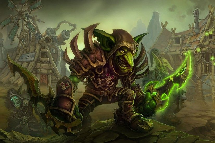 Bild: WOW: Cataclysm Goblins wallpapers and stock photos. Â«