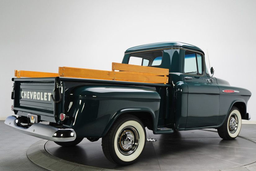 1957 chevy 4400 truck | Chevrolet 3100 Pickup 1957 Wallpapers