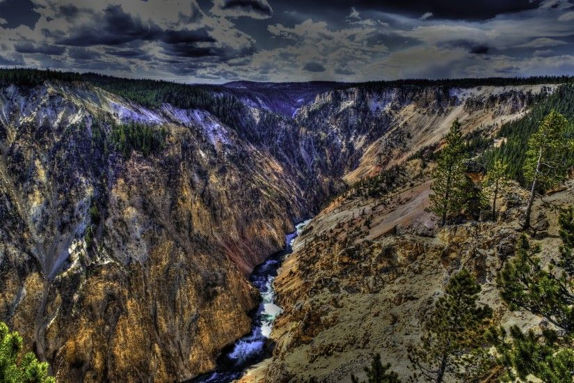 14 Yellowstone National Park HD Wallpapers | Backgrounds - Wallpaper Abyss