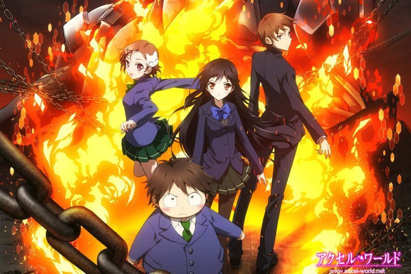 ... Wallpaper] Accel World by Michze90s