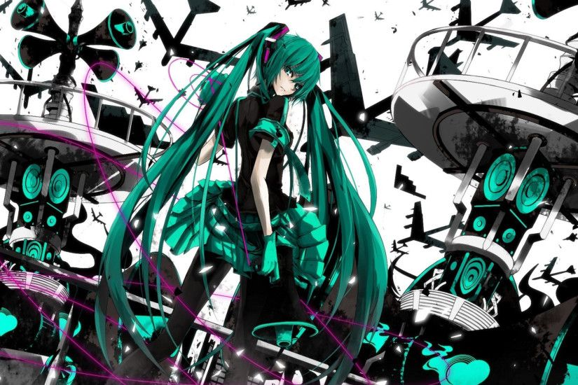 4915 Hatsune Miku HD Wallpapers | Backgrounds - Wallpaper Abyss ...