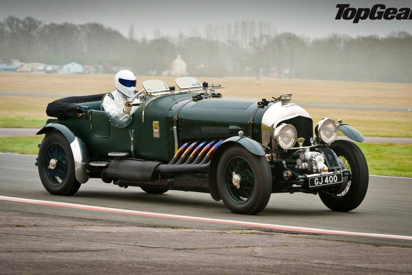 The Stig drives a Bentley Blower 1920x1200 wallpaper