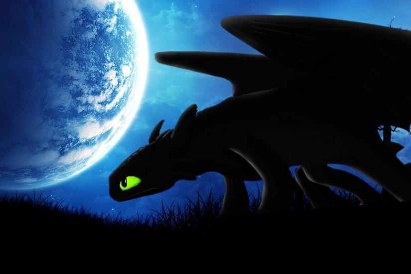 Request: Night Fury Toothless Wallpaper by BlueDragonHans on