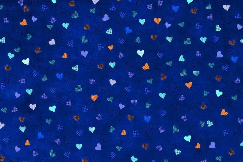 Blue Hearts Background - Wallpaper #37914