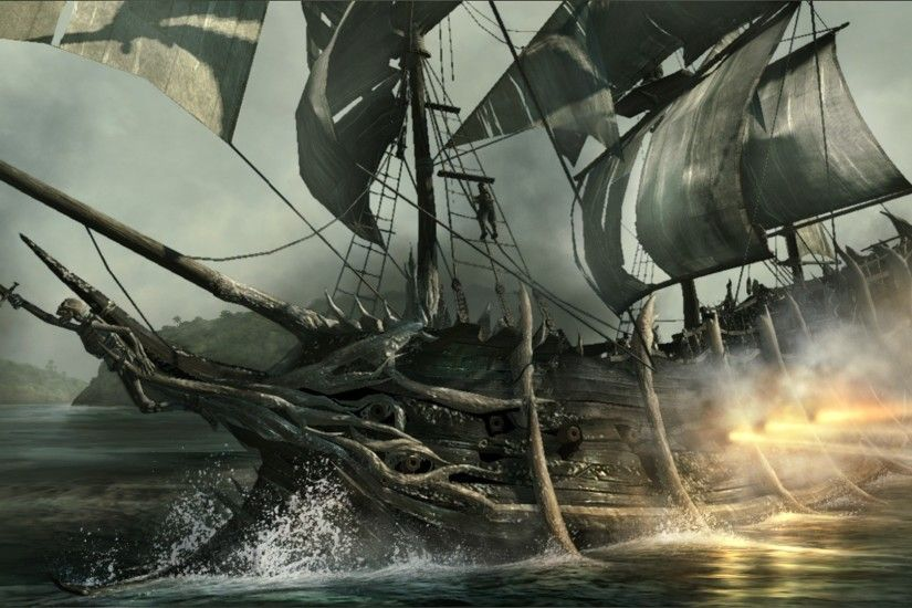 Pirate Ship HD Wallpapers Backgrounds Wallpaper | HD Wallpapers | Pinterest  | Pirate ships, Wallpaper and Wallpaper backgrounds