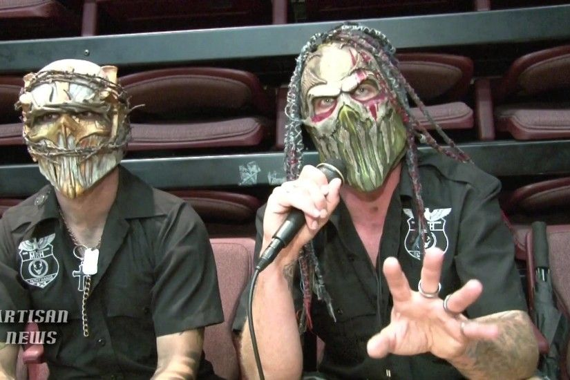 MUSHROOMHEAD VS SLIPKNOT, ORIGINS AS TOLD BY SKINNY