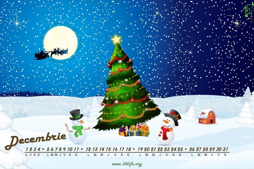 december, calendar, wallpaper, desktop, paper, calendare