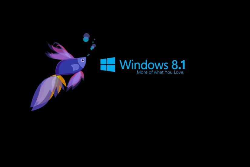 Windows 8.1 Fish Wallpaper - MixHD wallpapers