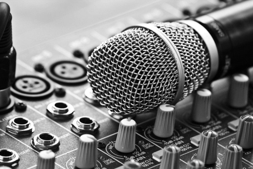 High Quality Microphone Wallpaper | Full HD Pictures