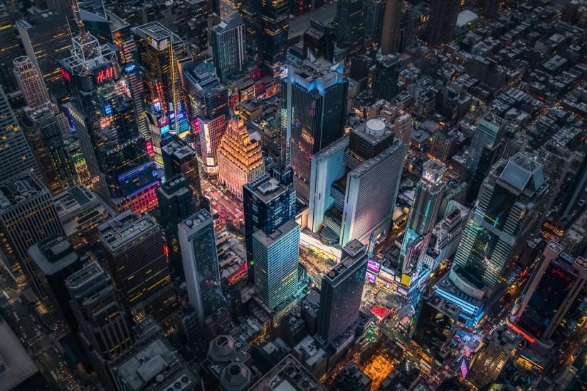 Times Square from Above wallpaper