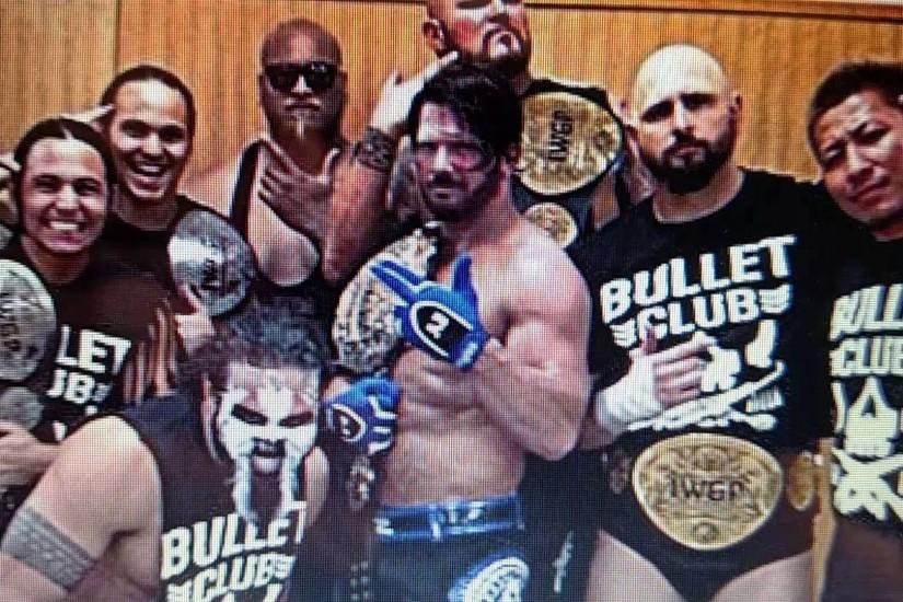 Wwe breaking news aj styles bullet club dvd