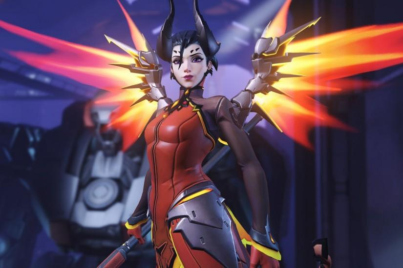 popular mercy overwatch wallpaper 1920x1080 for ipad