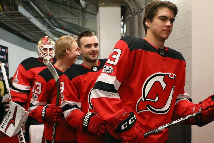 Hischier, Butcher, Bratt shine in debuts for new-look Devils | NHL |  Sporting News