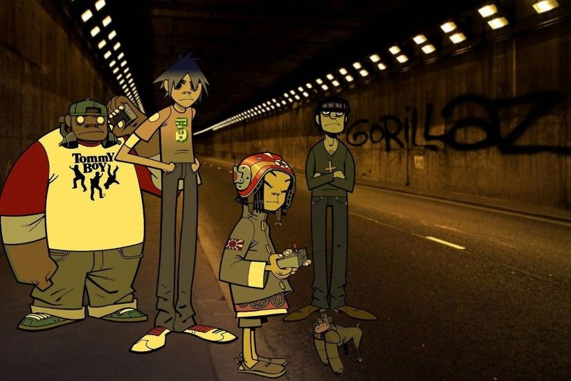 ... Gorillaz Wallpapers HD ...