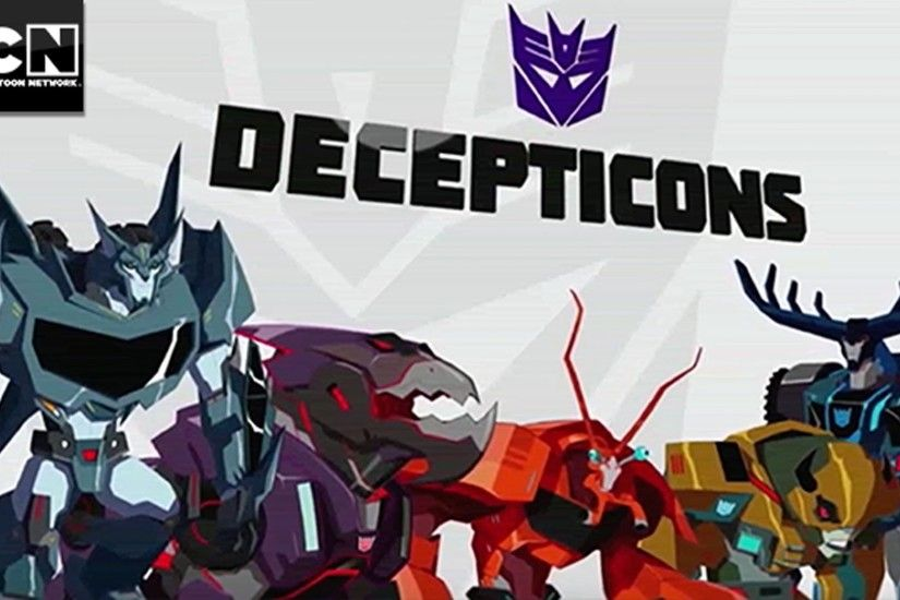 Decepticons Attack I Transformers: Robots In Disguise I Cartoon Network