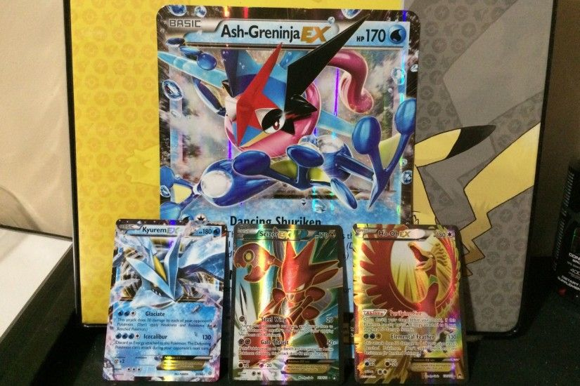 Awesome pulls from Ash-Greninja EX Box ...