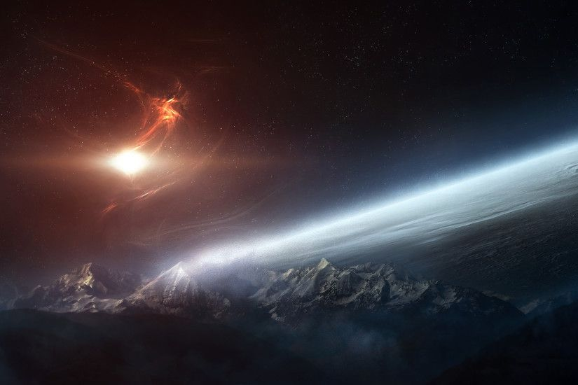 space wallpaper 1366x768 hd resolution - photo #5