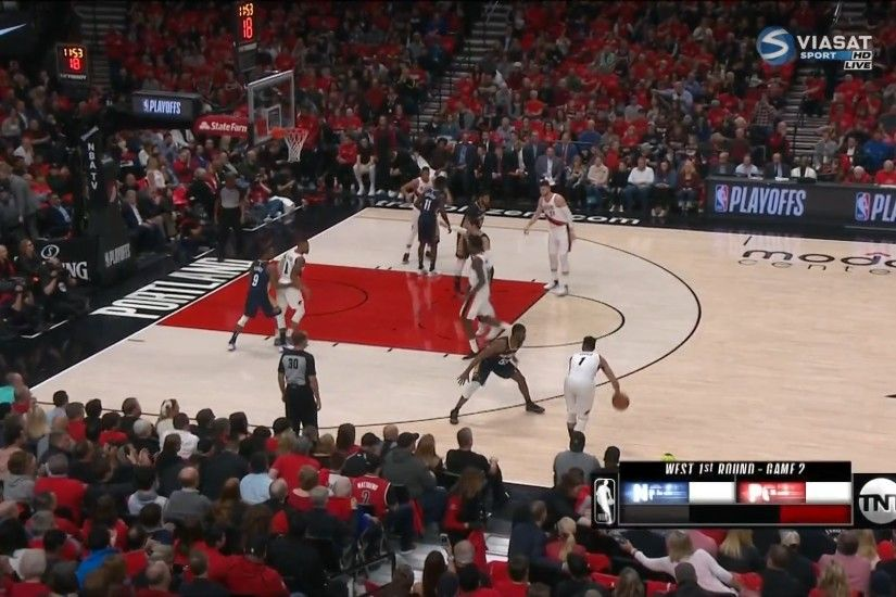 NBA Playoff 2018 - R1 Game2 - New Orleans Pelicans@Portland Trail Blazers  17/04/2018