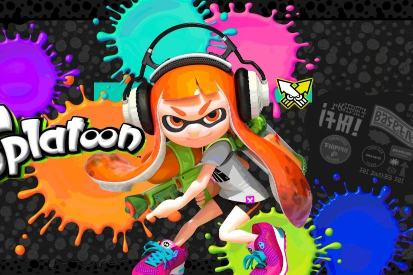 amazing splatoon wallpaper 2000x1100 laptop
