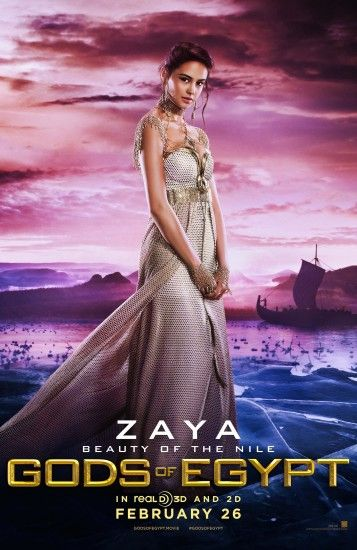 Gods of Egypt images Zaya Poster HD wallpaper and background photos