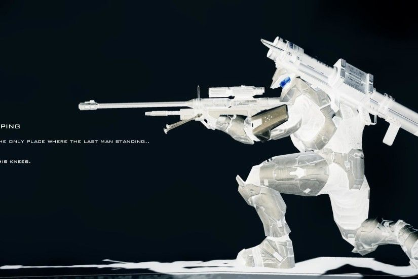 Halo Master Chief Sniper Wallpapers