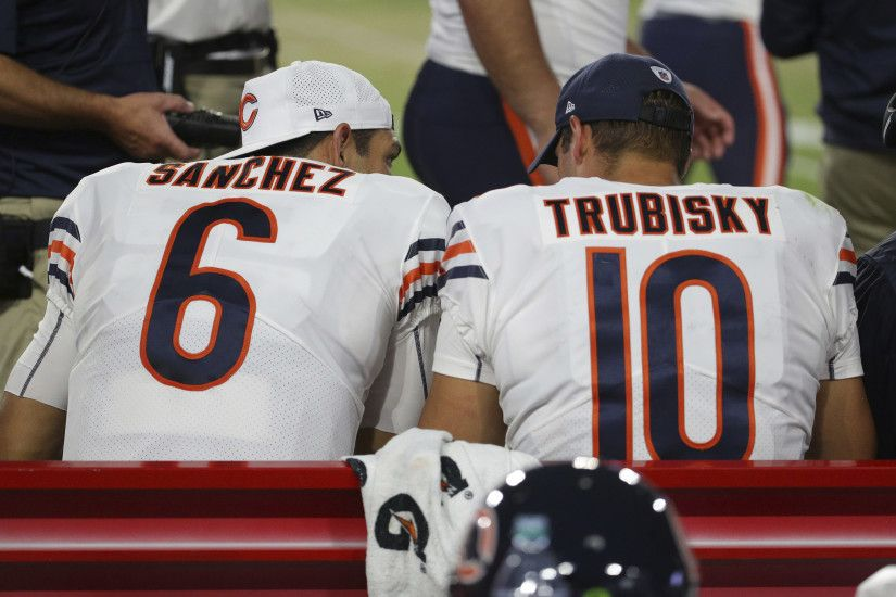Bears Q&A: Mitch Trubisky vs. Mark Sanchez backup situation, roster locks  and more - Chicago Tribune