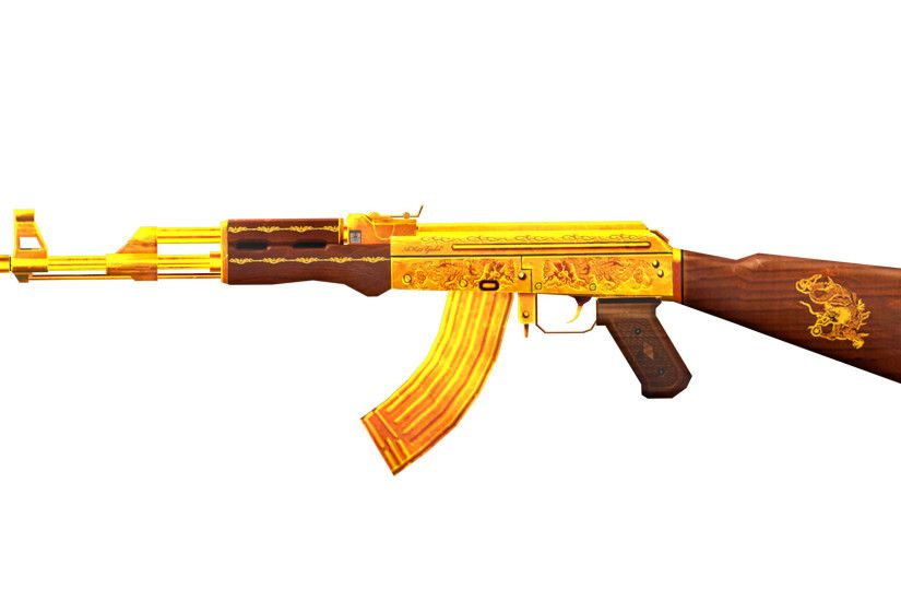 ... Download Golden Ak-47 wallpapers to your cell phone - ak-47 .