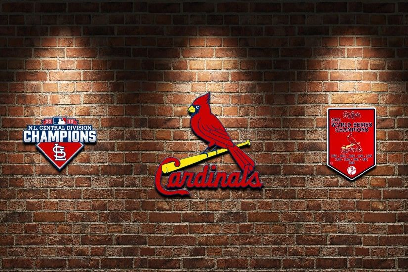ThingLi Cardinals 2016 MLB Brick St Louis wallpaper 3840x2160 916391