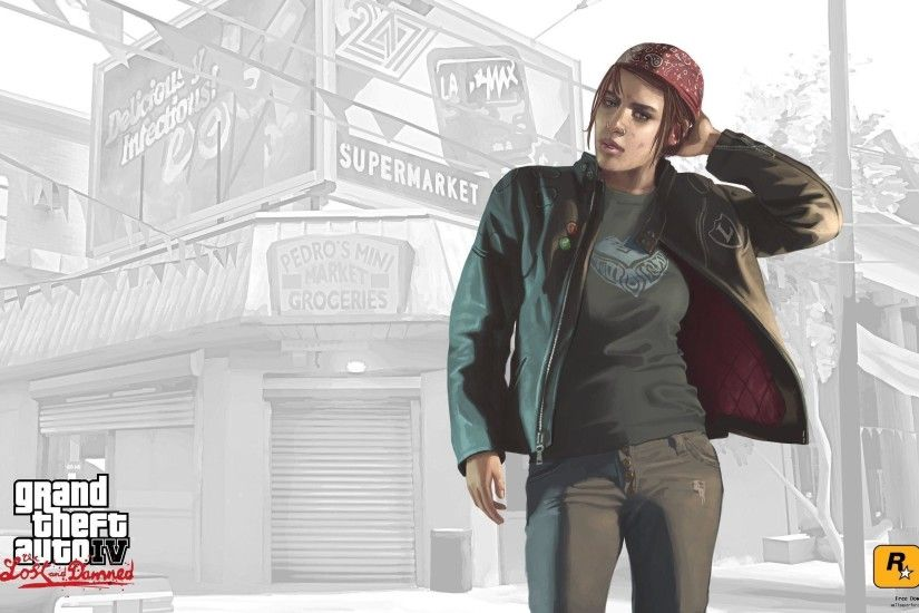GTA4 piece of information loss and cursed Ashley wallpaper View