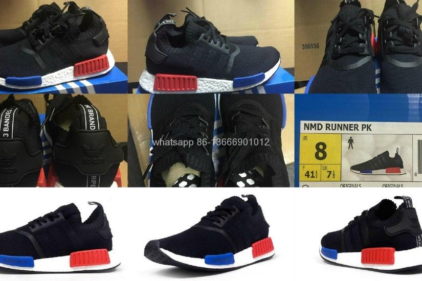 2017 Adidas Originals Nmd Runner Shoes Spider Man New Release
