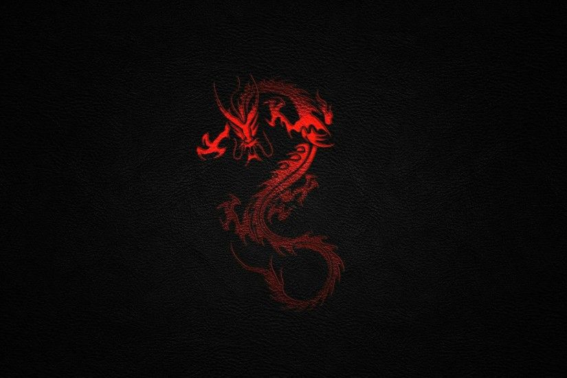 black red dragon desktop wallpaper