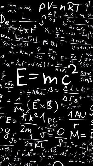 Physics Mathematics Equation Equations Formula