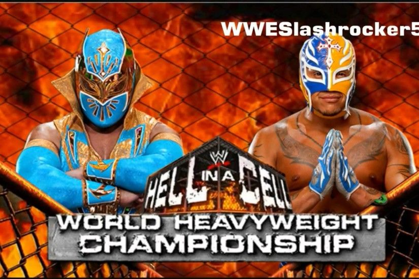 WWE Hell In a Cell 2012 Rey Mysterio vs Sin Cara
