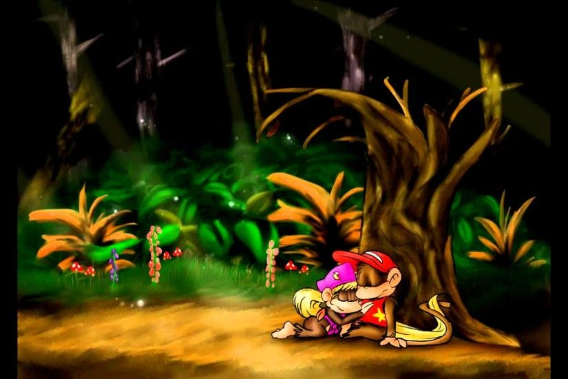 (Outdated; check description) REMIX - Donkey Kong Country 2 : Forest  Interlude - YouTube
