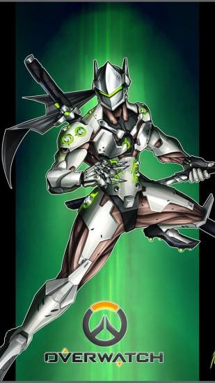 Genji Overwatch wallpaper iphone