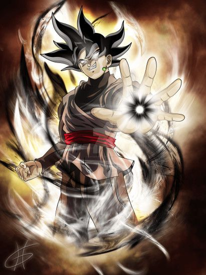 Black Goku ssj Wallpaper Dragon ball super by AL3X796 on DeviantArt