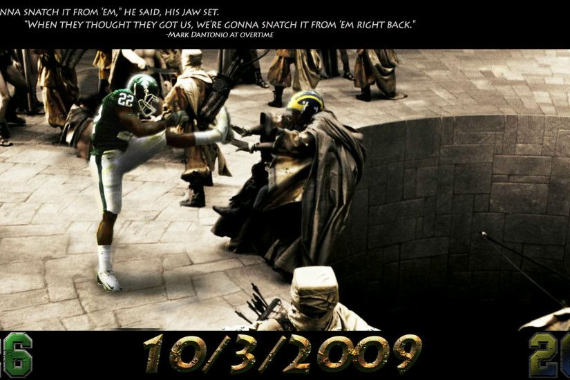this is sparta michigan state spartans wallpaper