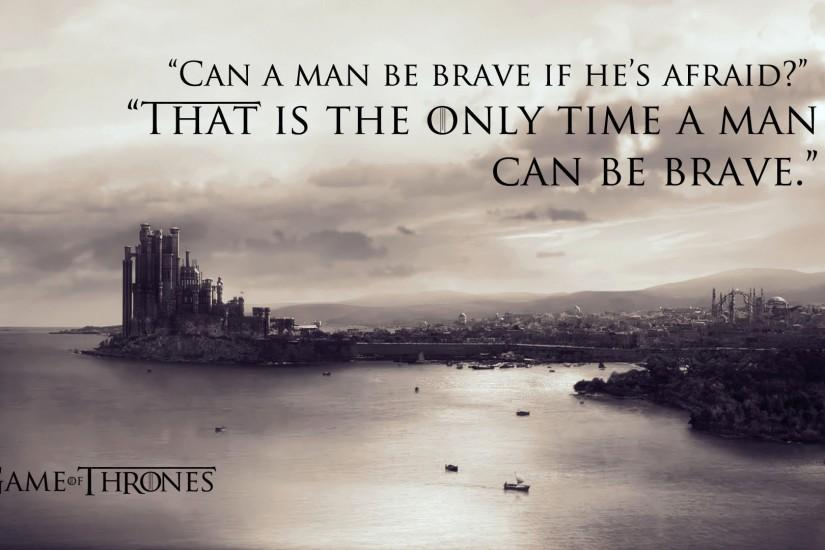 Game of Thrones Quote 1920x1080 wallpaper